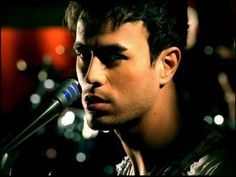 Enrique Iglesias - ... there's just something about tall dark and  handsome that I just can't Escape