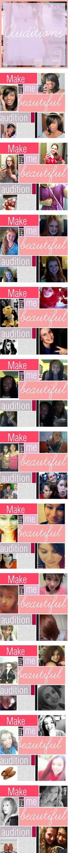"""Make Me Beautiful Auditions!"" by makeme-beautiful ❤ liked on Polyvore"