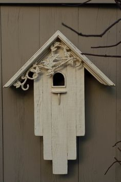 Items similar to reclaimed barn wood bird house on etsy - Reclaimed Barn Wood Birdhouse - Bird House Plans, Birdhouse Designs, Bird Houses Diy, Homemade Bird Houses, Wood Bird, Bird Boxes, Reclaimed Barn Wood, Rustic Wood, Garden Crafts