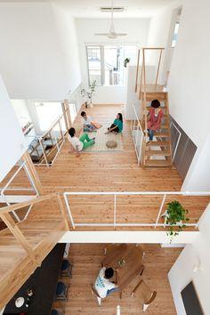 Share House LT Josai by Naruse Inokuma Architects