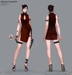 CrossFire Concept Art by Lee Chang Woo Female Character Design, Game Character, Character Concept, Sci Fi Genre, First Person Shooter Games, Weapon Storage, Female Drawing, Concept Art World, Crossfire