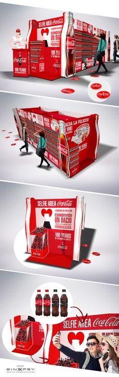 POS Share a Kiss Coca-cola 2015