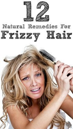 14 Home Remedies For Frizzy Hair