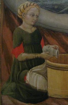 Photo by operafantomet Italian Clothing, Italian Outfits, 15th Century Dress, 14th Century, Italian Renaissance, Braids, Female, Painting, Art