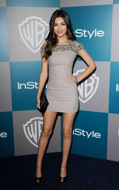 Victoria Justice it does not get much classier or fine than that!