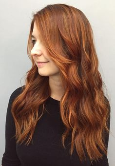 33 Hottest Copper Balayage Ideas for 2018 - Page 6 of 34 - Top Trendy Hairstyles Balayage Hair Brunette Short, Balayage Hair Copper, Auburn Balayage, Copper Hair, Hair Color Balayage, Balayage Hairstyle, Medium Auburn Hair, Hair Color Auburn, Hair Color Dark