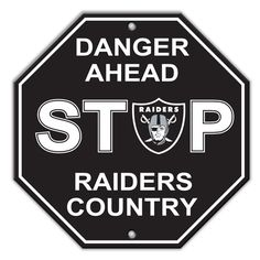 pics of raiders logo | Raiders Stop Sign | Pro Football Hall of Fame