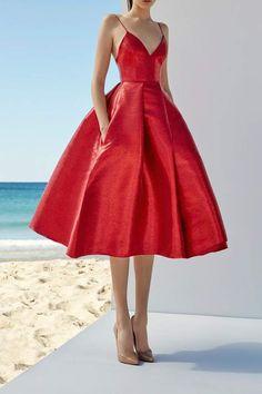 Alex Perry Sleeveless Midi Dress