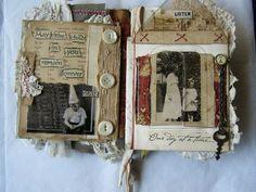 Altered book: Child