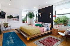 Ultimate eclectic Master Bedroom #Hoboken