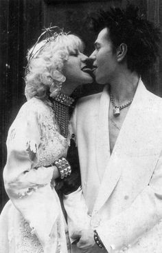 Sid and Nancy (1986) - Chloe Webb as Nancy Spungen and Gary Oldman as Sid Vicious, directed by Alex Cox.