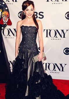 Laura Osnes attends the 2013 Tony Awards