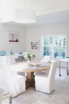 Desiree Spinner's La Petite Peach Office by Trent Bailey Photography | www.theglitterguide.com by lindsey