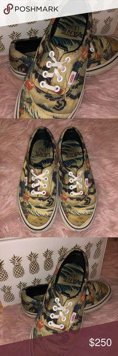 efe76b5350 RARE Vans Ubiq 3 Tides Tattoo Collab Vans Era LX Ubig 3 Tides Tattoo-  Hiroshi Hirakawa Rare find! Unisex Vans Collab Vans Shoes Sneakers
