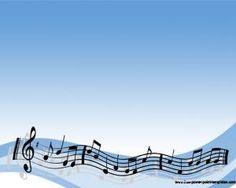 Letras musicales Powerpoint Template | Plantillas PowerPoint Gratis