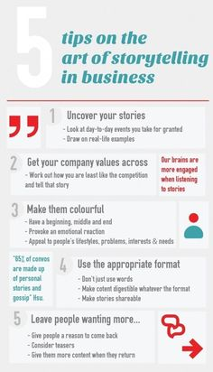 The Art of Storytelling in Business storytelling storytelling marketing socialmedia content contentmarketing 826762444078730523 Marketing Trends, Inbound Marketing, Marketing Plan, Marketing Quotes, Business Marketing, Content Marketing, Online Marketing, Social Media Marketing, Internet Marketing