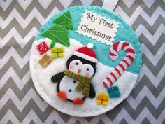 My First Christmas Baby First Christmas Ornament by Sazparillas