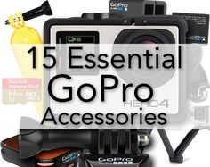 15 Essential GoPro Accessories | Photography Bay