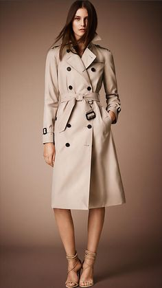 The Westminster - Long Heritage Trench Coat   Burberry