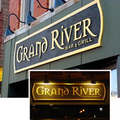 outdoor restaurant signs images   Restaurant Signs - Bar Tavern Signs by Strata Custom Signage Chicago