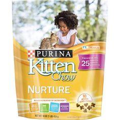 Purina Kitten Chow Nurture 16 oz  1 LB  -- Amazon most trusted e-retailer