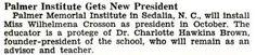 Palmer Memorial Institute Gets New President Wilhelmena Cr… | Flickr