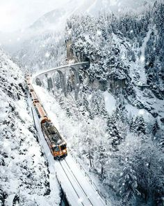 I did that too!Always be able to travel in winter by train!Its magical!