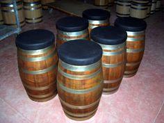 Pouf da botte - Barrel pouf - Briganti srl +39 0547 310171