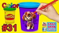 Nickelodeon Paw Patrol Skye Coloring Pages! Fun Coloring for Kids Toddle...