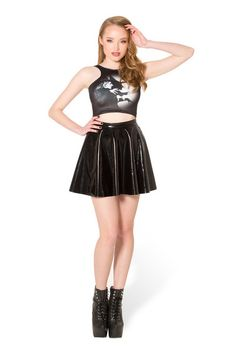 The Wicked Witch Of The West Reversible Crop › Black Milk Clothing