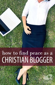 """When I first started blogging, I would hope and pray for """"inspiration."""" I felt lost when that inspiration was nowhere to be found. I wondered to myself if God really wanted me to do this? Is it okay for me to make monies from my blog? So many questions and so little peace. And it's not just me! Here are five tips to find peace amid all the questions you have as a Christian blogger."""