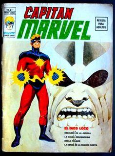 Capitán Marvel Vértice Volumen 2 número 1. Este cómic es una verdadera joya