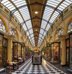 Royal Arcade, Melbourne, Australia.