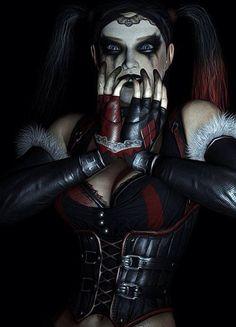 Harley Quinn's Revenge Gotham City, Batman Arkham City, Harley Quinn Halloween, Joker And Harley Quinn, Paul Dini, Cosplay, Dc Characters, Catwoman, Revenge