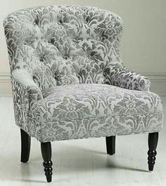 Black Grey Silver Loft •~• chair