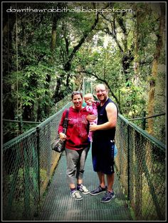 """Family travel to the Monteverde Cloud Forest in Costa Rica. Find out more at """"Down the Wrabbit Hole - The Travel Bucket List"""". Click the image for the blog post."""
