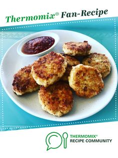 Chicken, Cheese and Vegetable Nuggets by JadeA. A Thermomix <sup>®</sup> recipe in the category Baking - savoury on www.recipecommunity.com.au, the Thermomix <sup>®</sup> Community.