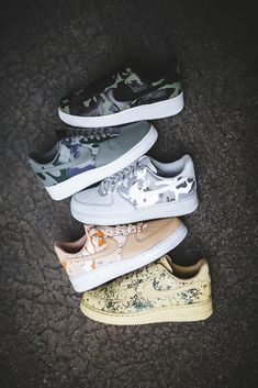 Another Look At The Nike Air Force 1 Low Country Camo Pack