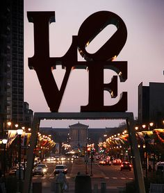 Philadelphia, Pennsylvania. I want to get a picture near this infamous beautiful sculpture in Love Park! There is tons to do in Philly.
