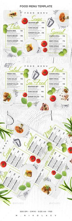 Food Menu - Food Menus Print Templates Download here : https://graphicriver.net/item/food-menu/19238071?s_rank=72&ref=Al-fatih
