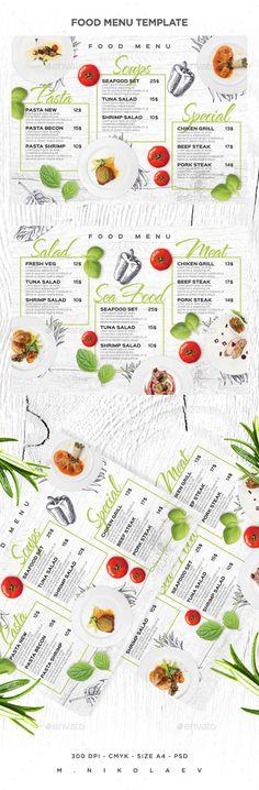 Food Menu - Food Menus Print Templates Download here : https://graphicriver.net/item/food-menu/19238071?s_rank=72&ref=Al-fatih