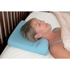 This Foam Cervical Comfort Pillow is a terrific, low-cost way to get neck support while sleeping.