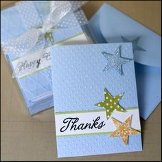 cuttlebug notecards | The embossed background really brings the cards to life, even though ...