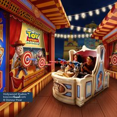 Disney Hollywood Studios Toy Story Mania #Disney #Travel