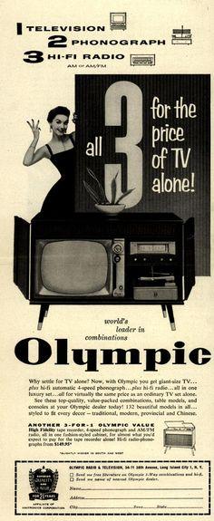 Olympic Television-Radio-Phonograph