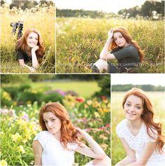 CT Senior Portrait Photographer {Denise Gammell Photography} Farmington Valley field what to wear seniors