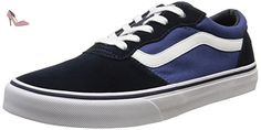 Vans Milton, Sneakers Basses garçon, Bleu (Suede Canvas/Navy/Stv Navy), 28 EU (UK child 11 Enfant UK) - Chaussures vans (*Partner-Link)