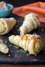 Puff Pastry Cornucopias are originated in France.