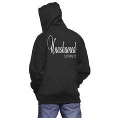 Unashamed Signature Logo Zip-Up Hoodie