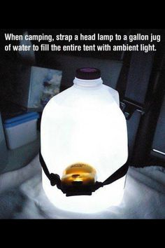 Geniale......   I've seen this before but want to remember it. It's genius. This would be especially useful in our basement storm shelter, known affectionately as Harry's Room (under the stairs) since we should keep some water in there anyway.